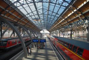 Lübeck HBF Bahnhofshalle