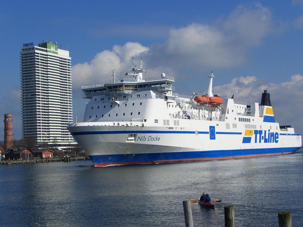 båt till tyskland från trelleborg
